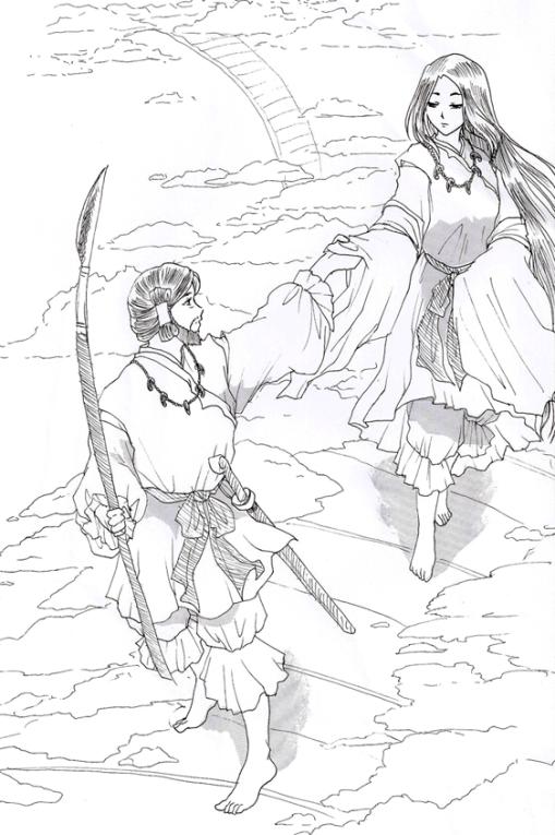 Izanagi and Izanami