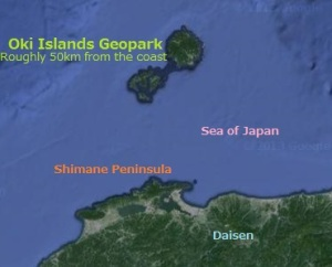 Oki Islands Geopark, Shimane